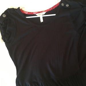 Matilda Jane Women's dress. Black. Small. EUC.
